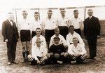 Die Mannschaft des SV Geisecke um 1936