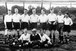 Die Mannschaft des SV Geisecke um 1927