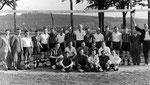 Die Mannschaft des SV Geisecke um 1930