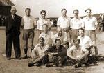 Die Mannschaft des SV Geisecke um 1948