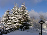 Winterlandschaft bei Frankenhain