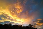 Einmalige Abendstimmung 9.7.2011 Handybild