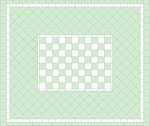 layout for tile arrangement of the floor