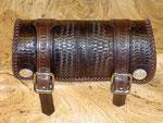 Werkzeug-Rolle klein Conchas Basket Wave Design aufwendige Flechtnähte ca. 240x100mm sorry verkauft