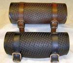 Werkzeug-Rolle schwarz oder braun Basket Wave Design ca. 280x100 mm sorry beide verkauft