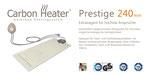 Wasserbetten Heizung Carbon Prestige