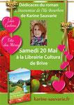 """Affiche promotionnelle pour le roman """"L'insoumise de l'île Bourbon"""" de Karine Sauvarie. 2016"""