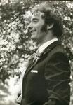 1971, am Hochzeit von Mathias und Heidi