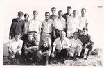 1964 Sept. Mit meinen Junioren-Schachspieler-Freunden in Mallorca (2.von rechts vorne)