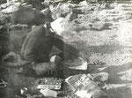 1972 Sardinien am Malen