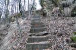 Monti del Tiglio 1052 m, sentiero per la Capanna Cremorasco