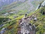 Sentiero per la Capanna Cristallina (Val Torta)