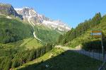 Gorezmettlen sulla strada per il Passo dello Spluga 1613 m