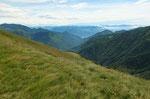 Val Cannobina ed in fondo il Lago Maggiore
