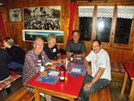Cena in Capanna con l'amico Sebastiano