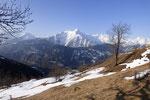 Pizzo Forno dal sentiero che conduce all'Alpe di Nara