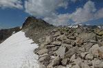 Alla bocchetta 2689 m