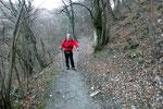 Sul sentiero per il Monte Bisbino