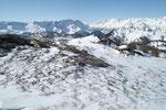 Panoramica dal Passo Forca 2112 m