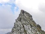 Ilario verso una cima senza nome