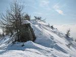 Poco prima dell'Alpe Morisciolo