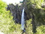 Cascata sopra Calnègia