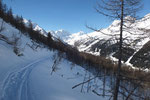 Verso l'Alpe di Valleggia