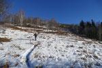 Salita all'Alpe Musgatina