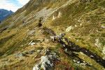 Sentiero per Sompréi