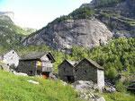 Calnègia 1108 m - Val Calnègia (Foroglio)
