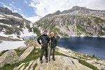 Tiziano e Ilario al Lago grande