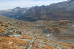 Laghetti sotto il Piz Spadolazzo e la Val Niemet