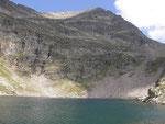 Lago di Canee e Pizzo di Claro
