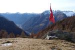 Dal Rifugio Alpe Costa verso la Val Verzasca