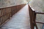 Ponte che ci riporta a Scudellate