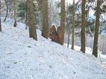 Scultura nella neve