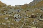 Salita al Pass da Suretta