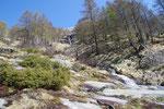 Dal sentiero per l'Alpe Nimi