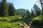 ---- la in cima si trova la Sewenhütte