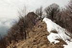 Lasciamo il Monte Spelucco ....