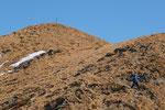 Discesa verso il Monte Pola