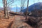 Deviamo per il Monte Borgna