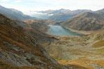 Lago di Monte Spluga e Monte Cardine
