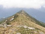 Sulla cresta Piz de Molinera - Martum