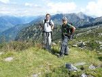 Marco e Tarci alla Bocchetta 2045 m