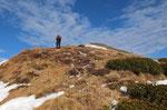 Sulla cresta per la Cima di Morisciolo