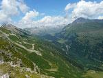 Passo Bareta 2274 m verso il Lucomanio