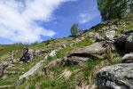 Proseguiamo per l'Alpe Bardughè