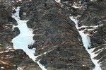 Cascate di ghiaccio sotto il Piz Vignun