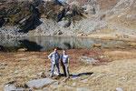 Chico e io al Lago Gelato 2161 m